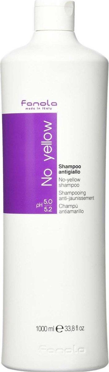 Fanola No Yellow Shampoo - 1000 ml
