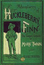 The Adventures of Huckleberry Finn(Illustrated)