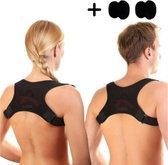 Premium Postuur Corrector 2.0 - Houding - Posture Correctie - Rug Brace - Schouderbrace - Flexposture - Rugklachten - Verstelbaar