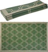 Hortus Forcia- Buiten vloerkleed - Buitentapijt - Buitendecoratie - 183x274cm - tuinkleed - Groen - Creme