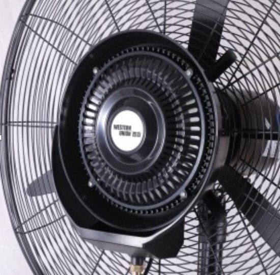 Vizyon Professionele industriële Ventilator Voor buitengebruik Bouw ventilator 26 inch. (65 cm)