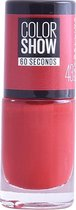 Maybelline Colorshow Red Apple 43 - nagellak