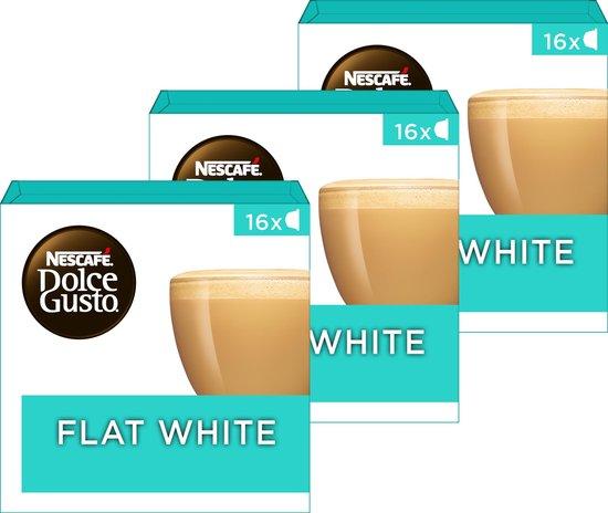 NESCAFÉ® Dolce Gusto® Flat White - 3 doosjes à 16 capsules geschikt voor 48 koppen