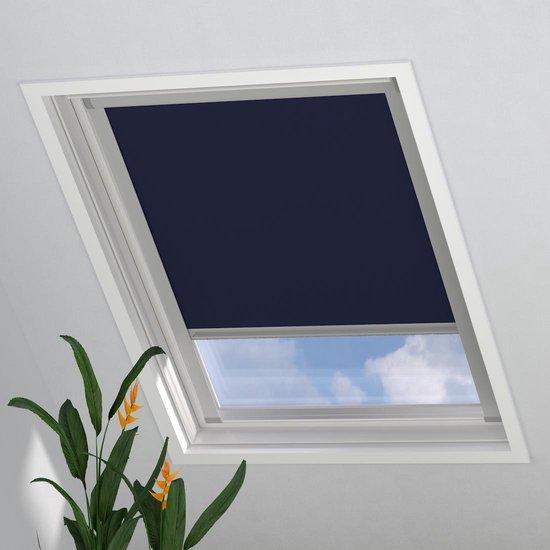 Dakraam Rolgordijn Trend Verduisterend Dark Blue voor Velux: SK06