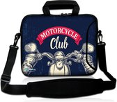 Laptoptas 17,3 inch motorcycle club - Sleevy