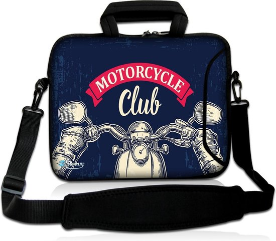 Laptoptas 15,6 inch motorcycle club - Sleevy