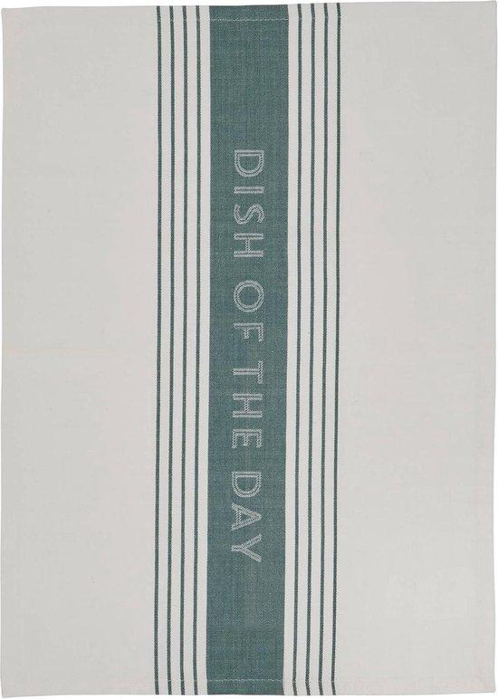 Jamie Oliver - theedoek - Dish of the Day - blauwgrijs