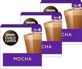 NESCAFÉ® Dolce Gusto® Mocha - 3 doosjes à 16 capsules geschikt voor 24 kopjes