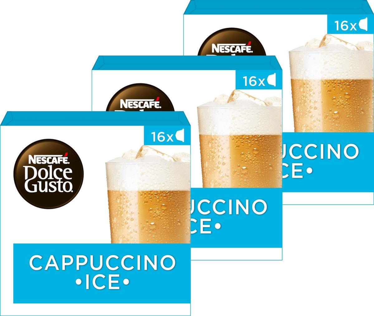 Nescafé Dolce Gusto capsules Cappuccino ice - ijskoffie - 48 koffiecups - geschikt voor 24 koppen ko