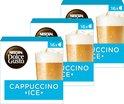 NESCAFÉ® Dolce Gusto Cappuccino Ice - 3 doosjes à 8 capsules geschikt voor 24 koppen