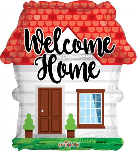 Folie Ballon Welcome Home 45 centimeter