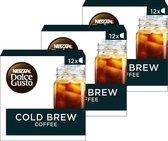 NESCAFÉ® Dolce Gusto® Cold Brew 3 doosjes à 12 capsules geschikt voor 36 kopjes Cold Brew