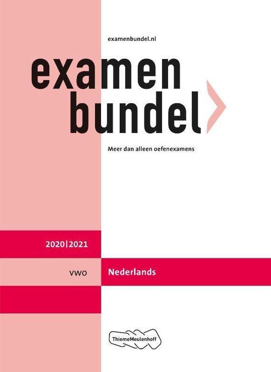 Boek cover Examenbundel vwo Nederlands 2020/2021 van  (Paperback)