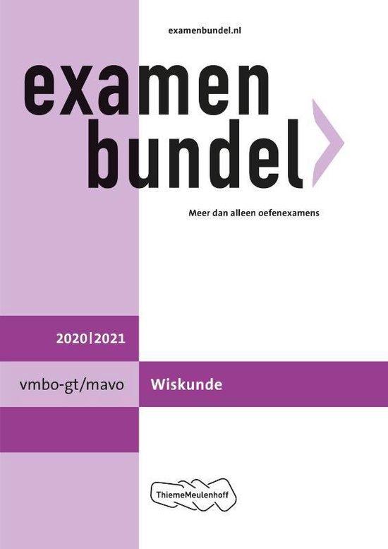 Boek cover Examenbundel vmbo-gt/mavo Wiskunde 2020/2021 van  (Paperback)