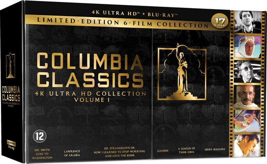 Columbia Classics Collection - Volume 1 (4K Ultra HD Blu-ray)