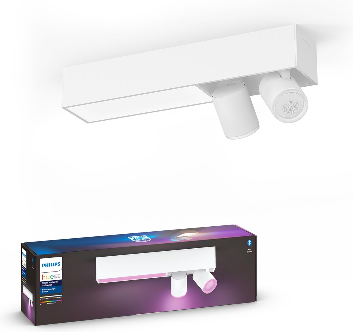 Philips Hue - Centris 2L-Spot Ceiling light - White & Color Ambiance