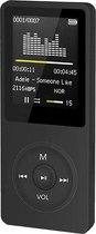 FEDEC MP3/MP4 Speler - Zwart - 1.8-Inch - 8 GB