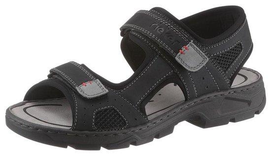 | Rieker sandalen Zwart 45