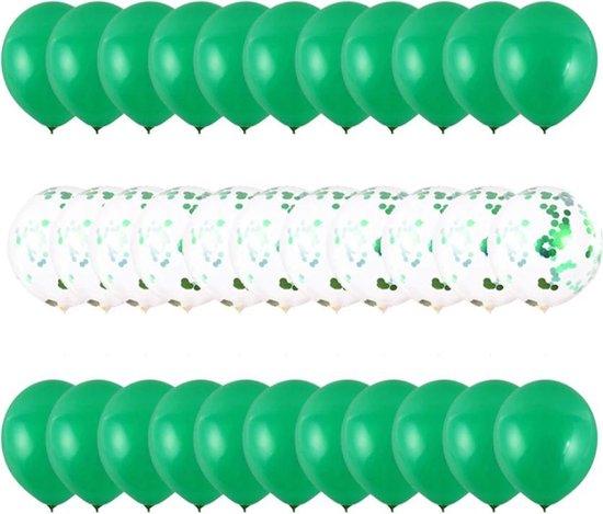 Sens Design Ballonnen – Feest versiering verjaardag – 30 stuks – Groen