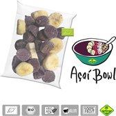 Acai bowl BIO – bevroren fruit puree (pulp) en IQF bowl packs - Acai fine fruits club - 4,8 kg (40x120g)