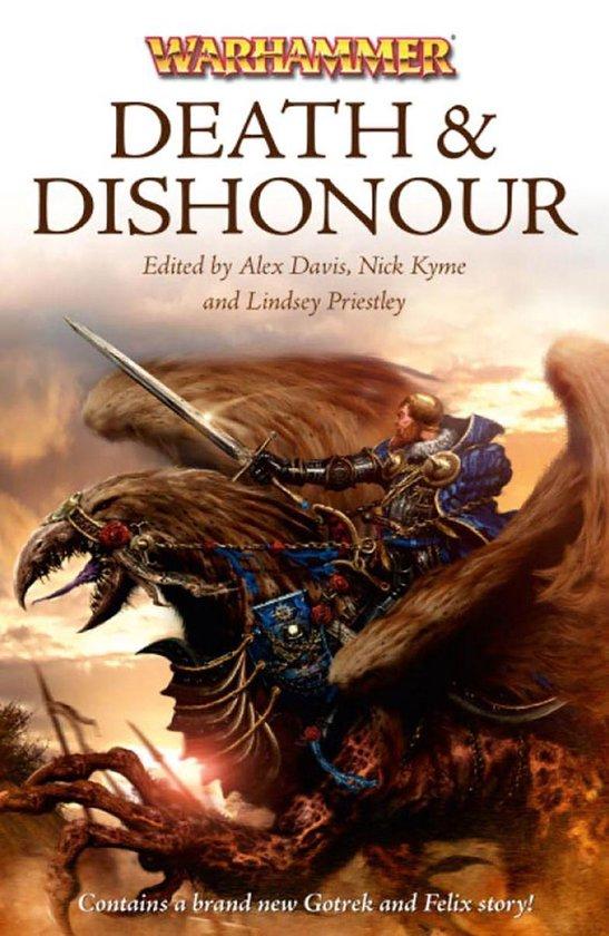 Boek cover Death and Dishonour van Nathan Long (Onbekend)