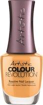 Artistic Nail Design Colour Revolution 'Sunshine Tan Line'
