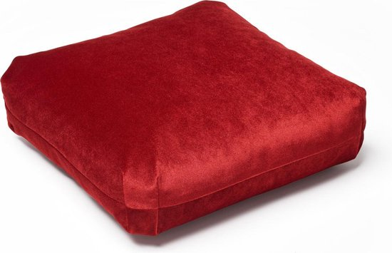 Puik - Plus kussen - Vierkant - Rood