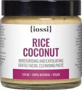 IOSSI | Rice Coconut Exfoliating Facial Cleansing Paste | Natuurlijke Gezichtsreiniger | Reinigingspasta | Gezichtsscrub | Face Scrub