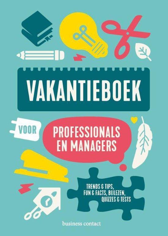 Vakantieboek voor professionals en managers 2020 - . (Red.) | Readingchampions.org.uk