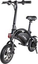 I-CIGO – Wind-goo - E-Bike,Elektrische Fiets opvouwbaar stuur met lithium-ion accu,- escooter - Achterwielmotor( B3-wart )