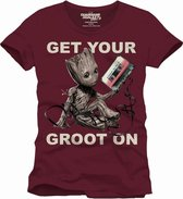 GUARDIANS OF THE GALAXY - T-Shirt Get Your Groot On (L)