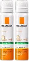 La Roche-Posay Anthelios Zonnebrand Mist Gezicht SPF50 - 2x75ml