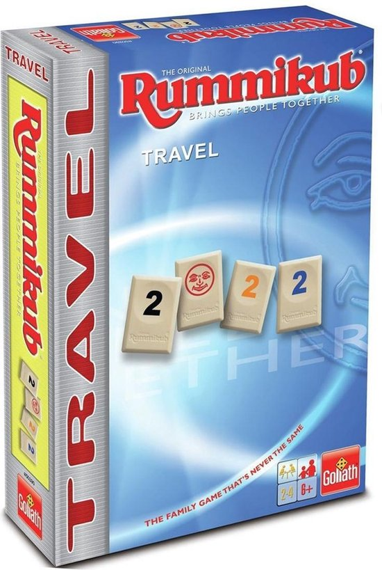 Afbeelding van Rummikub The Original - Travel - Reisspel - Goliath