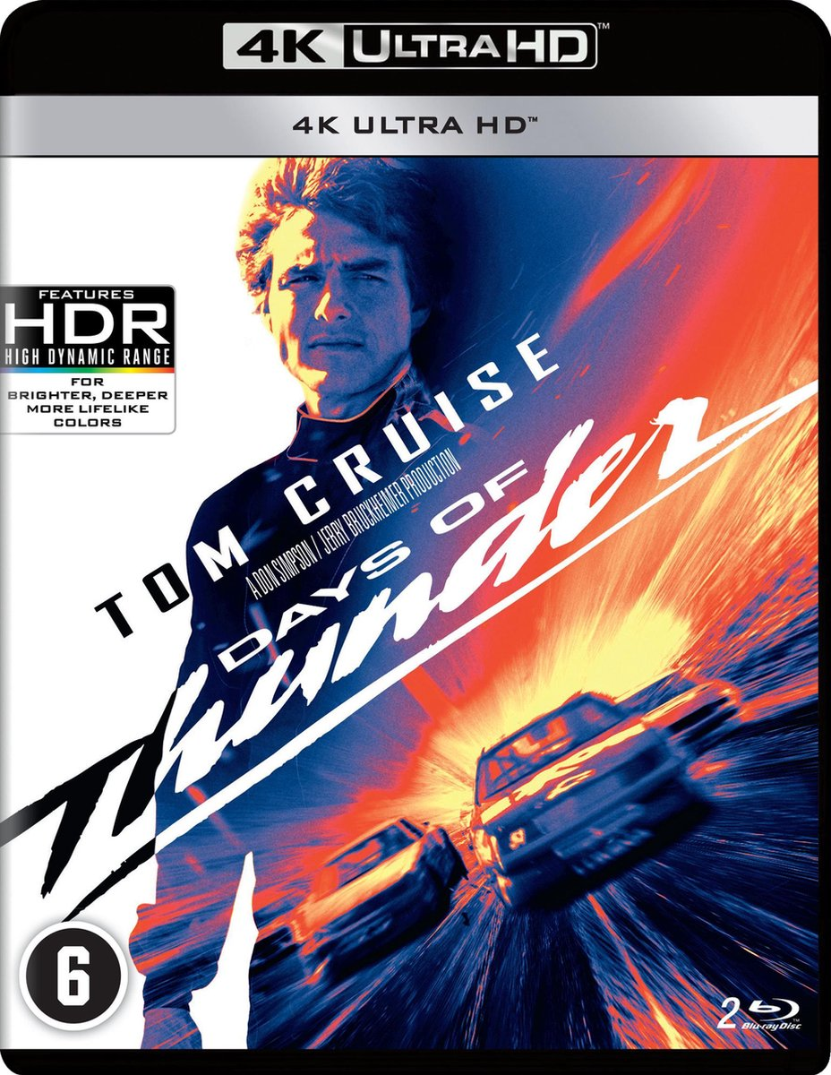 Days of Thunder (4K Ultra HD Blu-ray)-