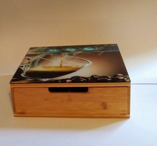 Thee kastje - tea box - thee - thee box - keuken