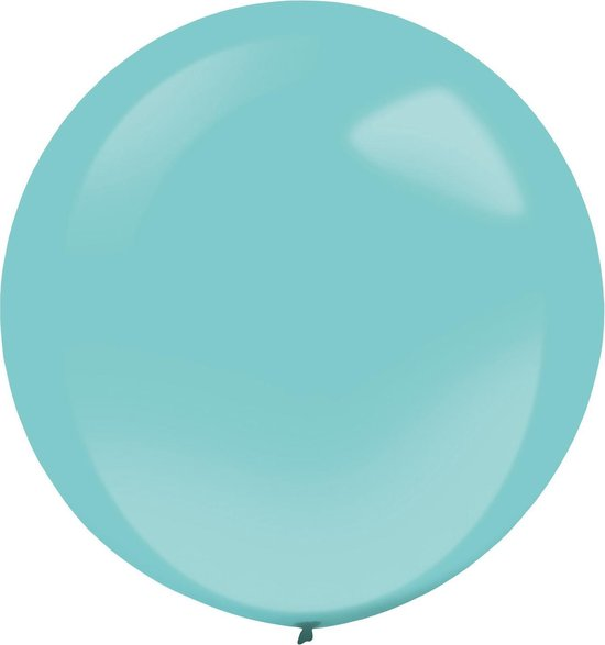 Amscan Ballonnen 60 Cm Latex Turquoise 4 Stuks