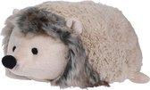 1x Deurstopper beige egel liggend 23 cm - Huishouden - Woonaccessoires/benodigdheden - Kinderkamer - Deurstoppers dieren egels beige