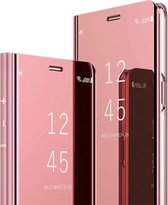 Samsung Galaxy Note 10 Plus Hoesje - Clear View Cover - Roze