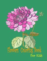 Flowers Coloring Book for Kids