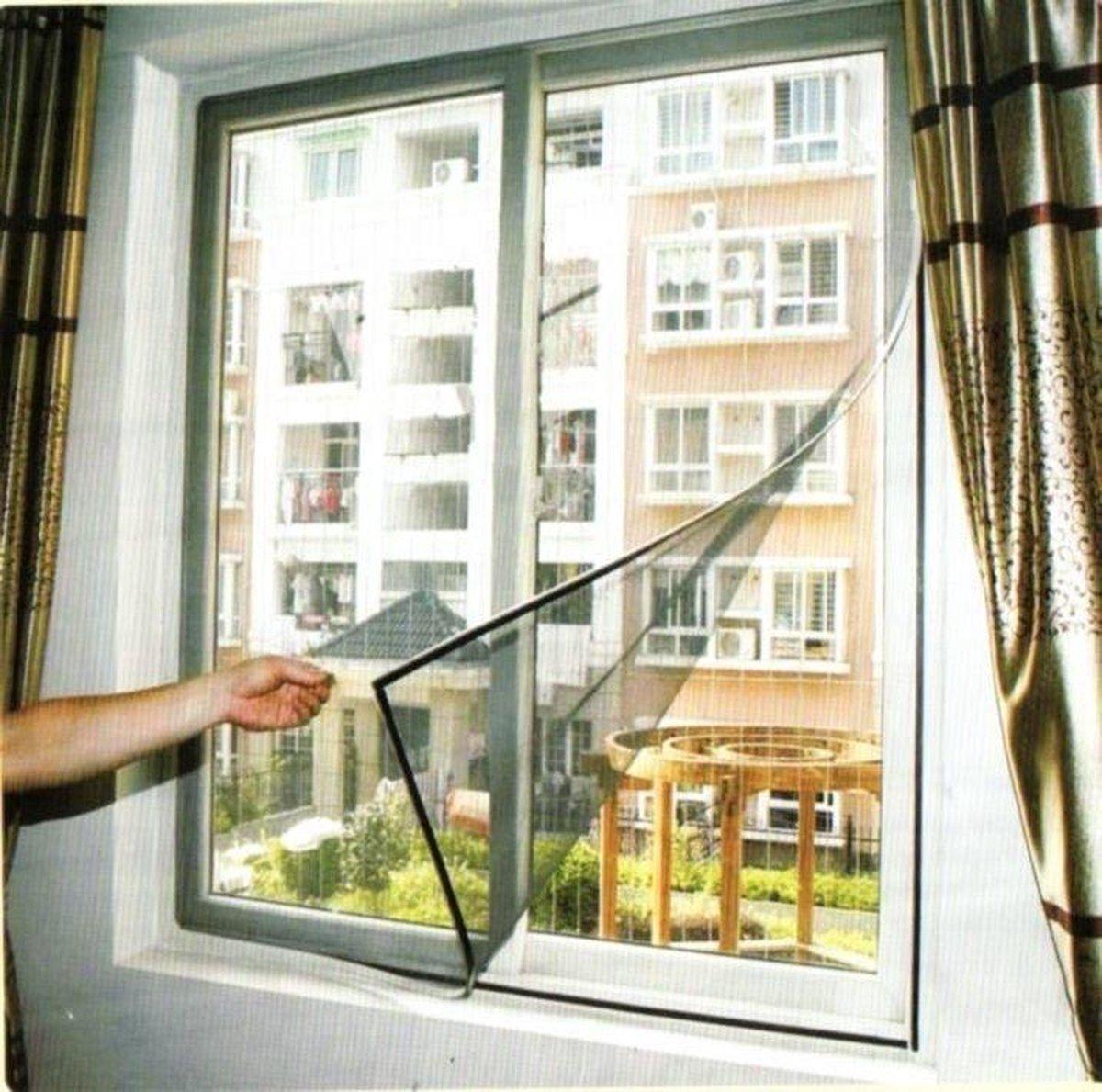 Horrengaas voor ramen
