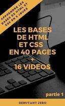 Apprendre html et css en 40 pages pour débutant