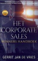 Het corporate sales winners handboek