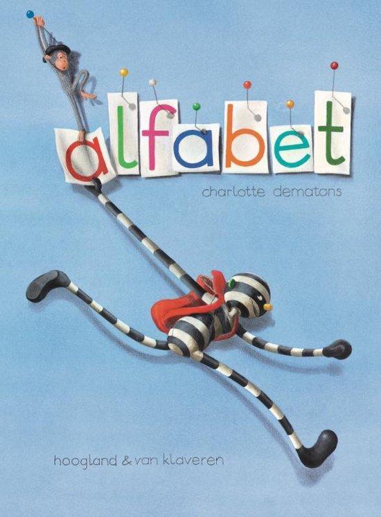 Boek cover Alfabet van Charlotte Dematons (Hardcover)