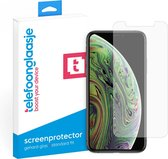 iPhone Xs Screenprotector Glas - Tempered glass - Standard Fit - Screenprotector iPhone Xs - iPhone Xs Screen Protector