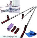 MyTemple Beenspreider + GRATIS Yoga Mat – Stretcher – Beenspreider – Lenigheid – Split Trainer – Yoga – Verstelbaar