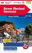 Bernese Oberland / Simmental cycle map