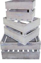 Kistenset van hout - 3 stuks in set - BBWW PH design