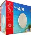IVC Air ventilator | Round 100 | Ø 100 mm | capaciteit 92 m³ / uur | geschikt voor ruimtes tot 10m² | wit