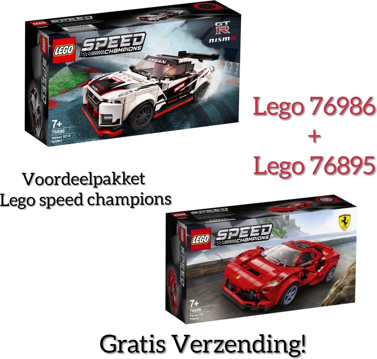 Voordeelpakket Lego Speed Champions / Lego 76896 + Lego 76895 (GRATIS VERZENDING)