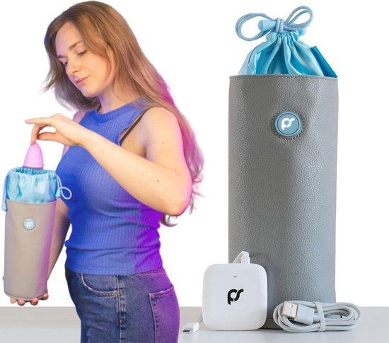 PureSan® Sextoy Cleaner – Menstruatie Cup Sterilisator  - Seksspeeltje Schoonmaken Reiniger – Ultraviolet UV Licht – Vibrator Hygiene Desinfecteren – Dildo Sterilisatie Zak Apparaat